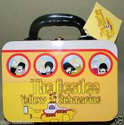 Beatles Yellow Submarine Authentic Small Porthole 7.25x5.25x3 Lunch Box New