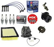 Complete Tune Up Kit Filterscaprotorngk Wires And Plugs Honda Civic Hx 96-00
