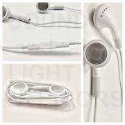 Apple Headphones Mic And Remote Original Authentic Earbuds Ipods Iphone 4s 5s 6s