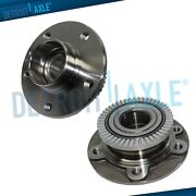 Pair Wheel Bearing And Hub Assembly W/abs For 1997-2000 2001 Cadillac Catera