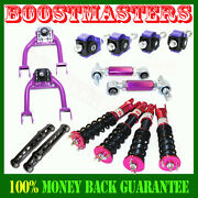 Integra/civic Coilover Suspension Adj/front Upper Arm/camber Kit/control Arm