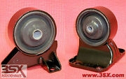 Stealth Engine Motor Mounts Lower Pair - Front + Rear - Oem Replacement Rubber