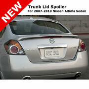 For Nissan Altima 4dr 07-12 Trunk Spoiler Rear Painted Sonoma Sunset Pearl A15
