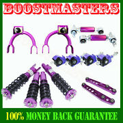 For Honda Civic/crx 88-91 Suspension Camber Kits, Coilover, Lower Control Purple