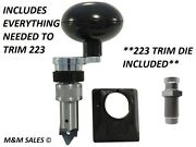 New Lee Deluxe Quick Trim Case Trimmer And 223 Trim Die - Everything To Trim 223
