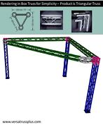 10x10 Triangle Truss - Triangle Trade Show Booth.