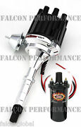 Pertronix Ignitor Ii/2 Billet Flame-thrower Distributor+coil Amc/jeep 360 401