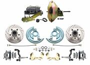 1967 1968 1969 Camaro Power Disc Brake Conversion Kit Drilled And Slotted Gm-227