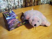 Boys And Girls New Shimmering Seal 16 Lites Up Magical Glow Pillow Pets