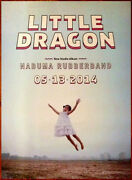 Little Dragon Nabuma Rubberband Ltd Ed Discontinued Huge Rare Poster Indie Pop