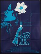Lady Sings The Blues 1973 46x61 Poster Diana Ross As Billie Holiday