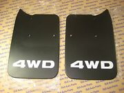 Toyota Tacoma Truck 4x4 And Pre-runner Factory Oem New Rear Mud Flaps With Bolts