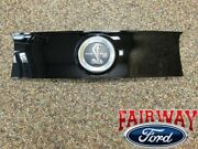 13 - 14 Mustang Oem Genuine Ford Parts Shelby Gt500 Faux Fuel Gas Cap Emblem