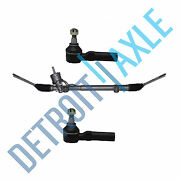 Complete Rack And Pinion Assembly + 2 Outer Tie Rod End For 1997-2004 Corvette