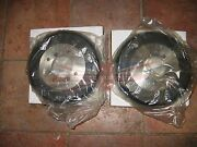 New Pair Of Mga Brake Drums 1955-1962 Fits Rear All And Front With Steel Wheels