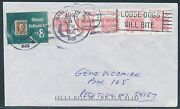 2452de Str/5 Imperf Error Used On Entire Cover 5¢ Circus Wagon Br4992