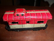 Vintage Louis Marx Tin New York Central Nyc 20102 Caboose Toy Train Car