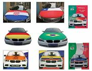Car Hood Cover And Accessories Flags Portugal Germany Brazil Italy Ecuador Chille