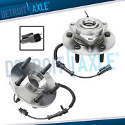 Front Wheel Bearing And Hubs Set For 2009 2010 2011 Dodge Ram 1500 W/ Abs