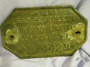 Antique Advertising 'esso Petroleum Coal' Truck Sign Made From Solid Cast Iron