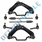 2002-2005 Ford Explorer Front Upper Control Arm Lower Ball Joint Tierod Kit 4.0l