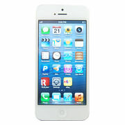 Apple Iphone 5 - 16gb - White And Silver Sprint Smartphone