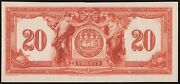 Canada 20 1917 The Canadian Bank On Commerce Face Die Essay Wl6965