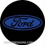Ford Oval Wheel Center Cap 3 Overlay Decals Choose Your Colors 5 In A Set