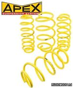 Apex Audi Tt Mk1 99-06 Coupe And Roadster Quattro 40mm Lowering Springs