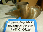 Old Stock Mercury Stainless Steel Prop 13.5x23rh 48-72760a5 Includes Hub