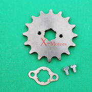 520 16 Tooth 16t Front Counter Engine Sprocket Gear Pit Bike 150cc 250cc Sdg Ssr