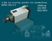 Air Cooled Cnc Spindle Hqd Brand 4.5kw Er-25