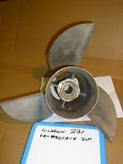 Mercury Quicksilver Stainless Steel Propeller 48-89801a 4 21p Cleaver