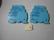 Lot Of 2 Fresh Takeout Measurement Mtl7056ac Shunt Diode Safety Barrier Dr1b2