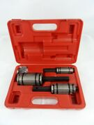 3pc Tail Pipe Tailpipe Expander Set 1 1/8 To 3 1/2 Exhaust Muffler New W/case
