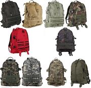 Military Style Molle Tactical Assault Pack Large Transport Backpack