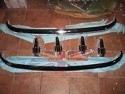New Front And Rear Bumper And Bumper Guards Overriders Austin Healey 100-6 3000