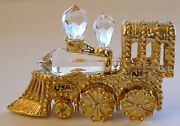 Crystal Locomotive Handcrafted With Crystal - Crystal Train