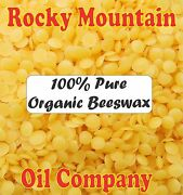 100 Pure Organic Filtered Yellow Beeswax Raw Pastilles Beads Pellets Beards