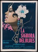 Lady Sings The Blues 39x55 Best Poster Linen-backed Diana Ross Billie Holiday