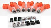 Fit Nissan Skyline Rb26dett Rb26 R33 R34 R32 Denso 850cc Fuel Delivery Injectors