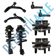 Grand Caravan Town And Country Front Strut Wheel Bearing Lower Control Arm Kit