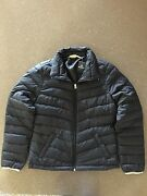 New Hollister Women's Black Fountain Valley Jacket Size Large