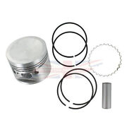 New Set Of 4 Pistons Pins Rings For Mgb 1972-1980 8.8-1 Comp Ratio Standard Bore