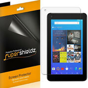 3x Supershieldz Clear Screen Protector Shield For Ematic 7 Inch Tablet Egd172