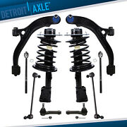 2 Front Struts + 8pc Suspension For Chrysler Town And Country Dodge Town And Country