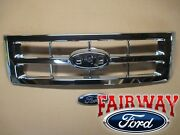 08 Thru 12 Escape Oem Genuine Ford Parts Chrome Grille Grill With Emblem New