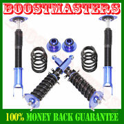 Blue Coilover Suspension Kits For 2008-11 G37 Coupe Sedan Rwd Only 12 F/10