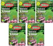5 Bags Hoffman 15110 10 Lb Hydrated Horticultural Garden Lime