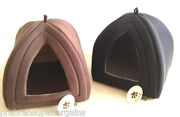 Winter Soft Snuggle Warm Pet Igloo Cave House Dome Small Cats Dogs Kitten Puppy